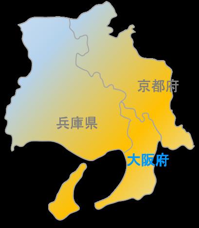 近畿圏地図